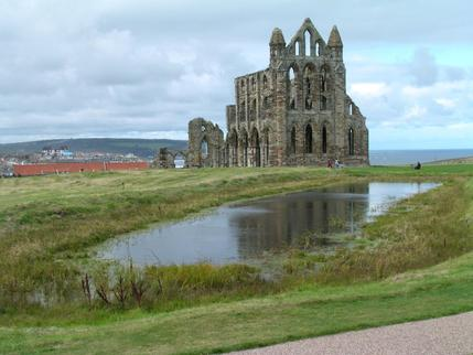 Whitby Abbey on the East Cliff